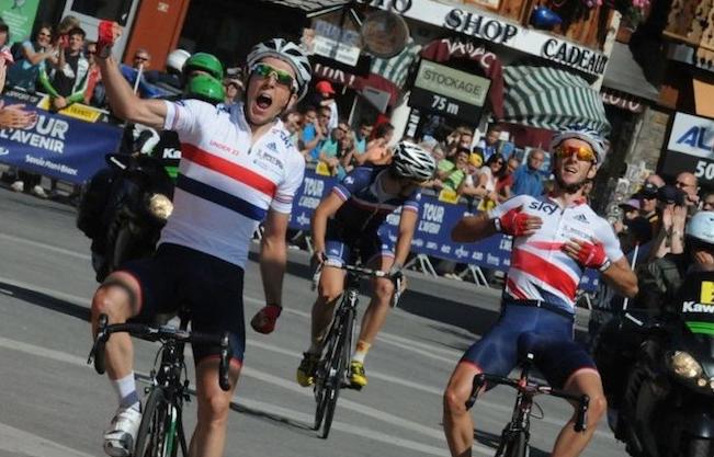 Саймон и Адам Йейтсы на Тур де Л'Авенир 2013