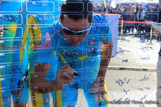 Photo: Continental Team Astana