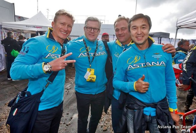 Photo from Astana Pro Team's Facebook page