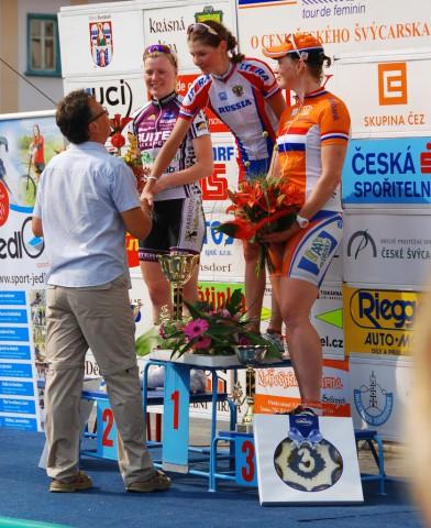 Лариса Панкова выигрывает многодневку в Чехии