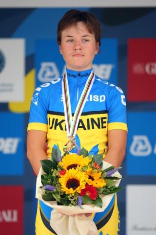 Olena Demydova. Чемпионат мира в Флоренции. Фото:  Bryn Lennon/Getty Images Europe
