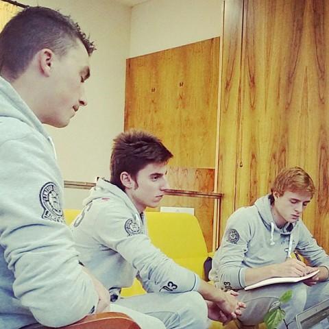Julian, Carlos, и Petr