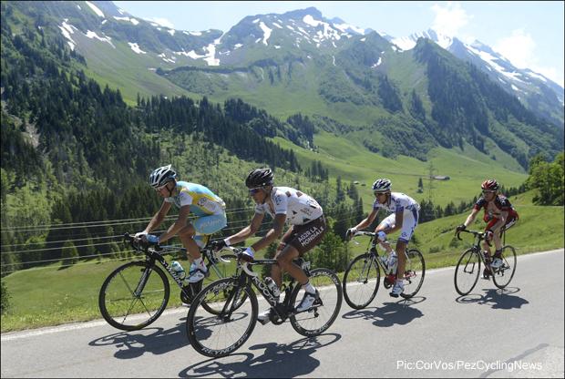В отрыве на Туре Швейцарии