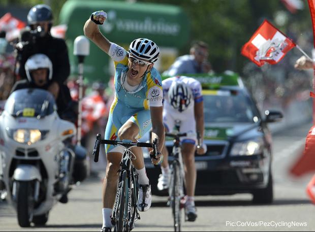 Победа на этапе Тура Швейцарии