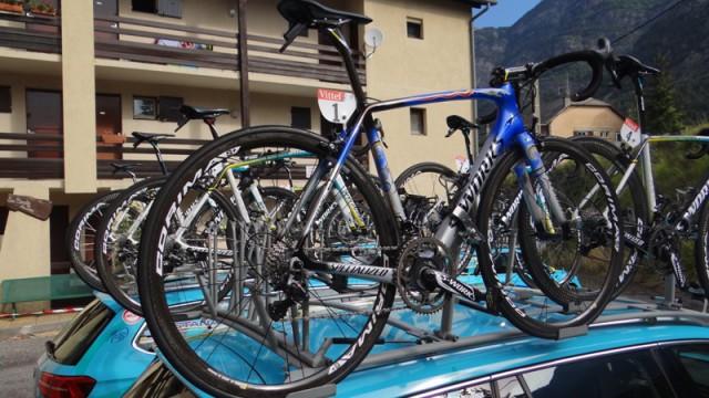 Велосипед Винченцо Нибали