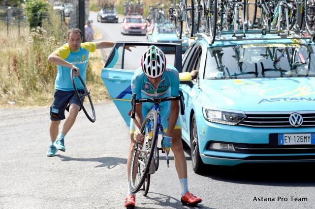 Photo Bettini for Astana Pro Team