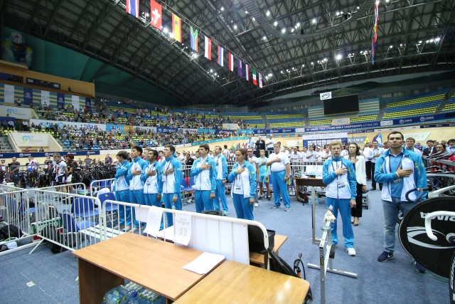 Photo: Kazakhstan Cycling Federation