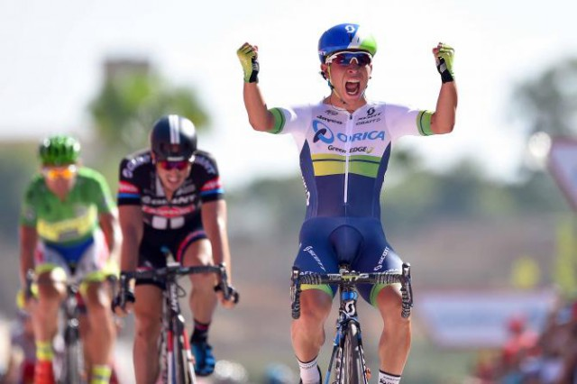 Ewan celebrates his victory (Tim de Waele/TDWSport.com)