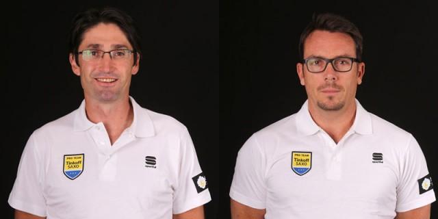 Бобби Джулич и Даниэль Хейли. Фото: Тинькофф-Саксо