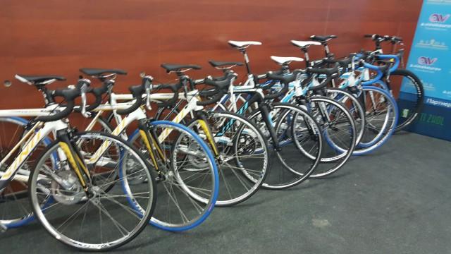 10 новеньких велосипедов VINO