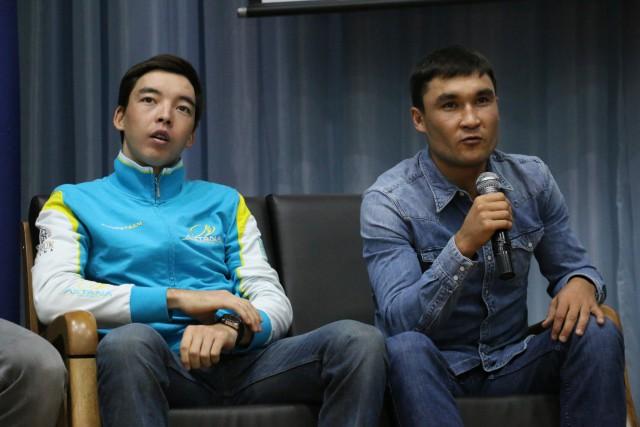 Бахтияр Кожатаев и Серик Сапиев
