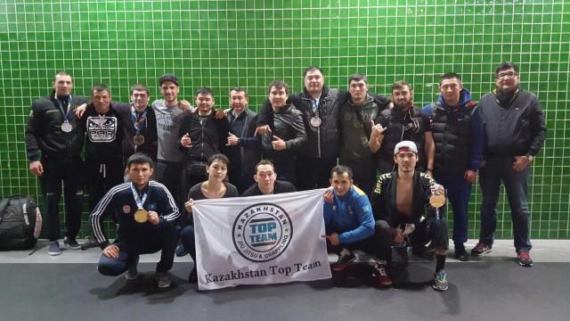 Казахстанская команда на соревнованиях