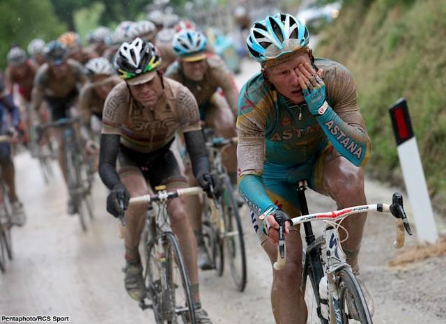93 Giro d'Italia. 7 tappa Carrara Montalcino 222km. 14, Maggio 2010 (photo/Pentaphoto- Rcs Ale Trovati)