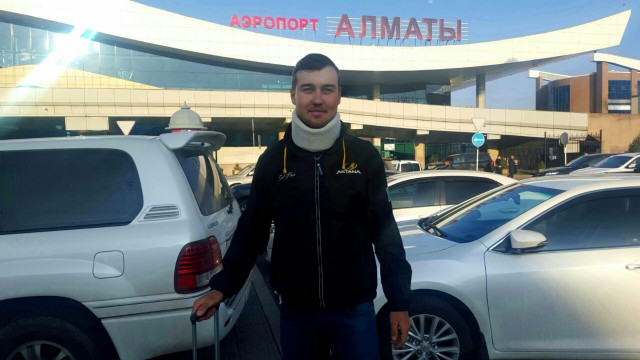 Даниил прибыл в Казахстан