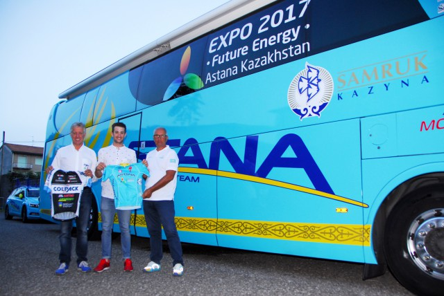 "Фото пресс-службы велокоманды ""Astana Pro Team"""
