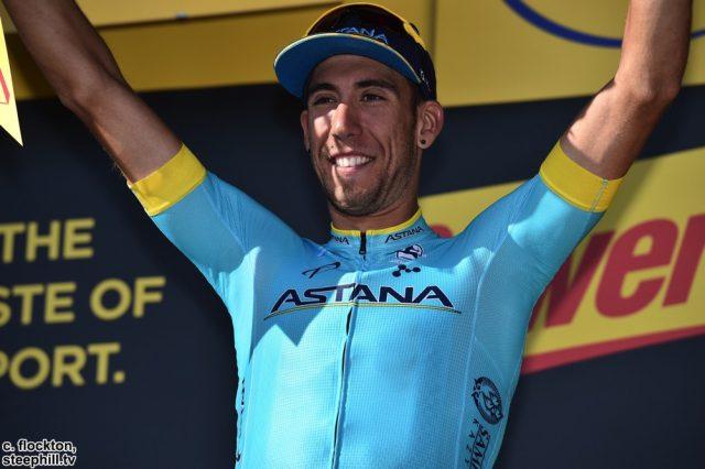 Omar Fraile Basque Astana Stage winner