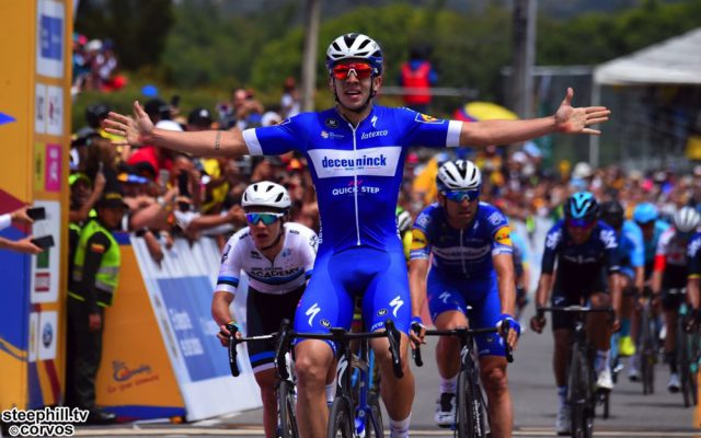 La Ceja - Colombia - wielrennen - cycling - cyclisme - radsport - Alvaro Jose Hodeg  (TeamDeceuninck - Quick Step) pictured during the Tour of Colombia 2019 stage-2 from La Ceja to La Ceja - 150,5 KM - photo Dario Belingheri//RB/Cor Vos © 2019