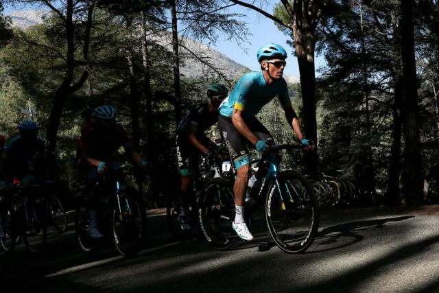 Luis León Sánchez (Astana) at the Vuelta a Murcia (Image credit: Getty Images Sport)